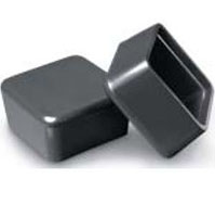 Square Polyethylene End Type Furniture Caps
