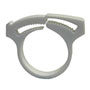 Stepless® Plastic Ratchet Clamps with 360 Degree Seal
